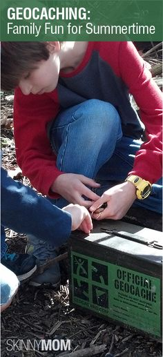 This fun, new, free service called geocaching is a perfect way to get your children off the couch and exploring! Prizes are hidden around the world for you to find so get on the site and see which ones are around your neighborhood!