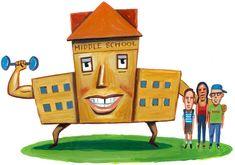 counsel idea, middle school, schools, school counselor, articl, school kids, children, middl school