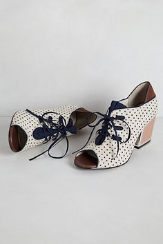 Heather Lace-Up Heels #anthropologie