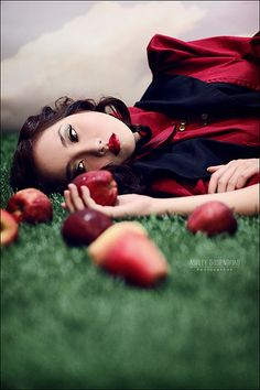 Modern Snow White: reminds me of my favorite story book character