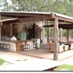 idea, cabana, pool, outdoor space, outdoor kitchens, outdoor live, patio, rustic outdoor kitchen, backyard