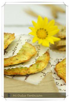 Tortillas de calabacín