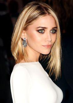 perfect hair + makeup - so elegant