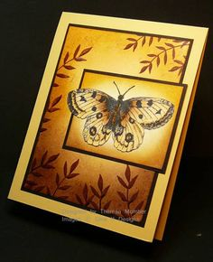 Moth at Sunrise by TheresaCC - Cards and Paper Crafts at Splitcoaststampers