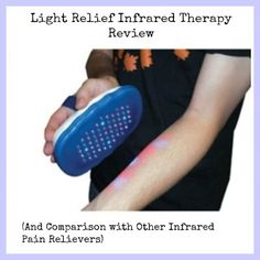 light relief infrared therapy review comparison with other infrared. Black Bedroom Furniture Sets. Home Design Ideas