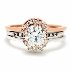 Lovely, lovely sparkles....11 Jaw-Dropping Rings Worth Getting Married For