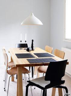 #Dining #room #interior #bnw  Scandinavian Deko