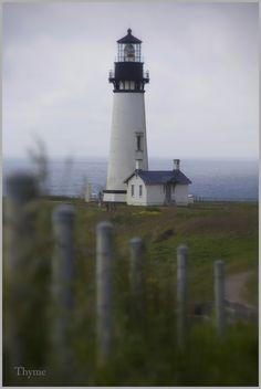 Yaquina Lighthouse in Newport, Oregon
