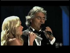 Katherine Jenkins duet with Andrea Bocelli