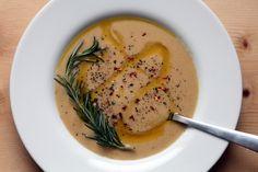 Rosemary Garlic Chickpea Soup