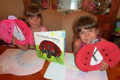 {Learning to Tell Time with The Very Grouchy Ladybug}  #CampSunnyPatch kid books, art, book week, learning, book activities, children books, clocks, craft ideas, preschool