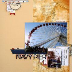 Navy Pier by Sarah Webb at Studio Calico