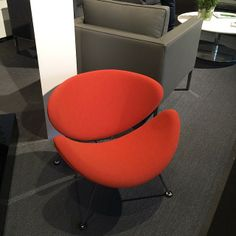 Red chair from ICFF 2014, New York City | #icff | 2014