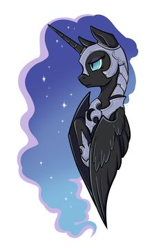 Nightmare Moon by Shiro-Gi.deviantart.com on @deviantART