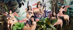 Truly bizarre paintings: Nguyen Xuan Huy | MASHKULTURE