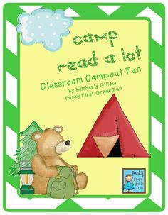 Funky First Grade Fun: Camp Read a Lot (part 1).  end of year?