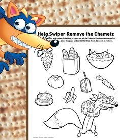 Teach kids about a Passover tradition with Swiper!