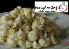 Tuna Tarragon Pasta Salad- Cant wait to make this Soup Plantation FAVE at home