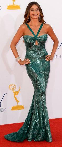 Sofia Vergara in Zuhair Murad | 2012 Emmy Awards - amazing