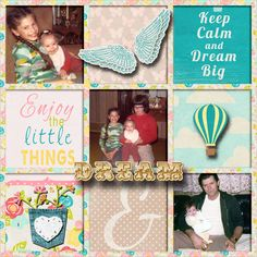 Old family photos.       Kit used: Summer Dreams by Sheila Reid       Template: My (Basic) Story by LissyKay Designs available at http://www.godigitalscrapbooking.com/shop/index.php?main_page=product_dnld_info&cPath=29_308&products_id=17656