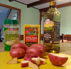 Sunday Supper #1- Italian roasted red potatoes