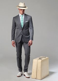 Ovadia & Sons Spring 2013 Suiting