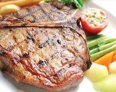 Marinated Grilled T-Bone Steak
