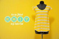 Knit top tutorial