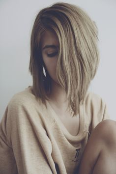 I may chop my hair off after the wedding. I love this.