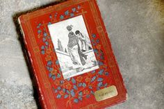 Vintage Wedding Guest Book Custom Made by Spellbinderie on Etsy, $118.00