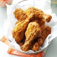 Oven-Fried Chicken Drumsticks