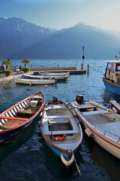 Limone dul Garda, Garda lake, Italy