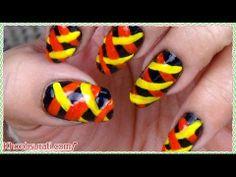 Braided Style Nail Art Design! By KhoobSurati.com