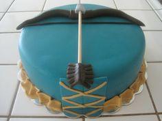 'Brave' Birthday Cake