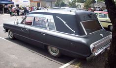 Ford Galaxy Hearse (custom mod--this did not see use as a service car)