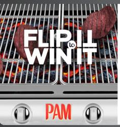 Play PAM® FLIP IT to WIN IT for a chance to win a trip to the Sutter Home Vineyard in Napa, or daily prizes! It's flipping awesome! Check it out and enter for your chance to win now. http://bit.ly/1kOSkZT