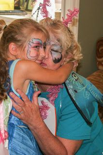 Do Face Painting at a Tinker Bell Fairy Birthday Party!