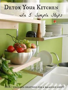 Detox your kitchen in 5 easy steps