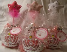 A Princess Party Favor Idea from My Princess Party to Go. So many Princess party favor ideas to choose from. http://www.myprincesspartytogo.com/FavorsUnder5.html #princessfavors #princessparty