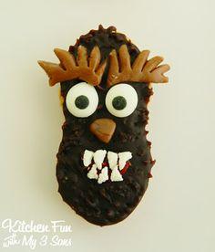 halloween idea, monster nutter, butter cooki, kitchen fun, nutter butter, son, halloween food, cookies, classic monster