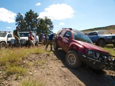 Our old Nissan Xterra during the 2011 Northwest #Overland Rally in Ellensburg, WA