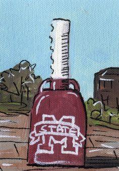 MSU Cowbell postcard