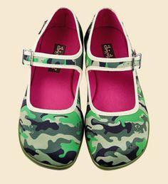 zapatos  chocolaticas pink army