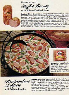 Hot dog soup