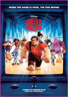 "Walt Disney Pictures ""Wreck It Ralph"" Movie - fun to take the kids to"