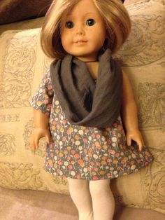 American Girl Doll Clothes  3 pc Everyday Basics by SewingSalvages, $9.00