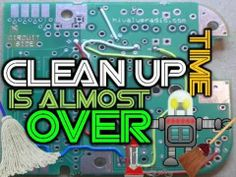 CLEAN-UP ROBOT-   Song by: Mark D. Pencil --- Video by: Mr. Harry
