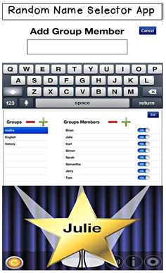 Math Coachs Corner: Appy Hour: Random Name Selector.  This great FREE app makes randomizing student responses easy and engaging!