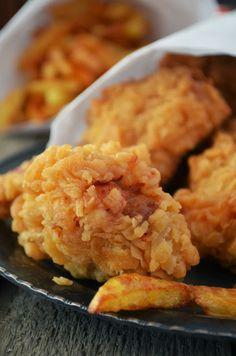 Kuchnia w zieleni: Kurczak jak z KFC