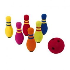 Farm Bowling - This intervention addresses the following goal areas:  Listening, Following two-step directions, Taking turns, Gross motor skills - - Pinned by @PediaStaff – Please visit http://ht.ly/63sNt for all (hundreds of) our pediatric therapy pins
